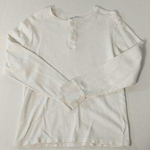 Old Navy Thermal Knit Men's Shirt Sz M